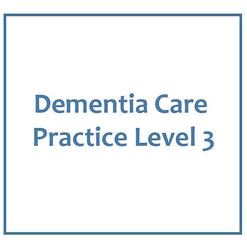 Dementia Care Practice Level 3