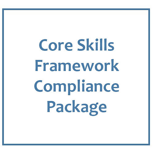 Core Skills Framework Compliance Package