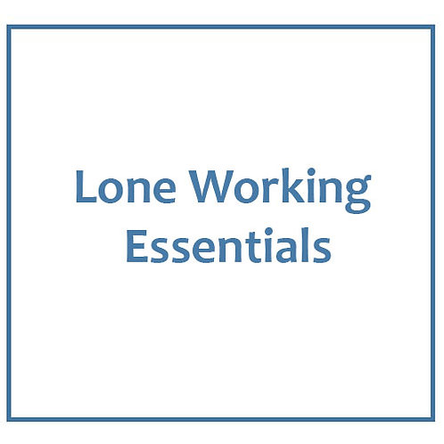 Lone Working Essentials