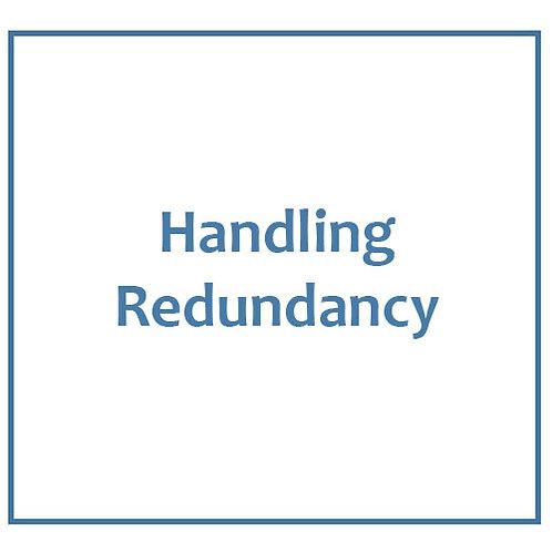 Handling Redundancy