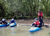 Kayaking tuition in Poole Harbour