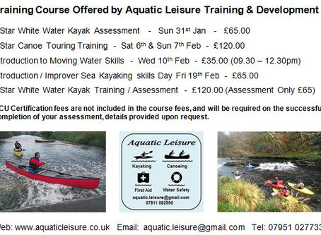Training Opportunities Jan & Feb 2016
