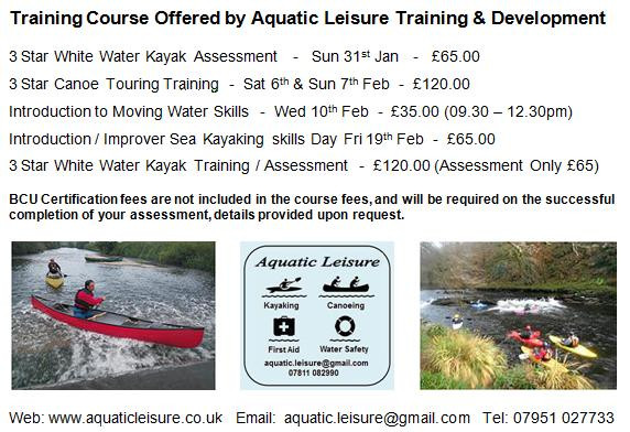 Training courses and opportunities from Aquatic Leisure