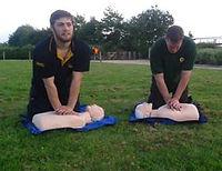 Aquatic Leisure first aid training in Dorset