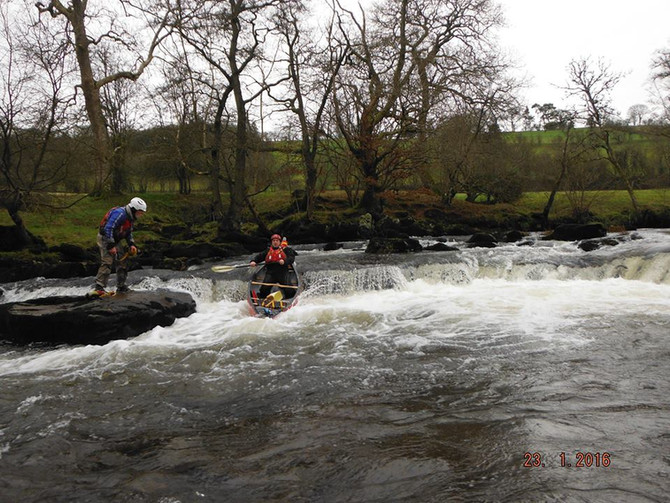 Open Canoeing in the Brecons