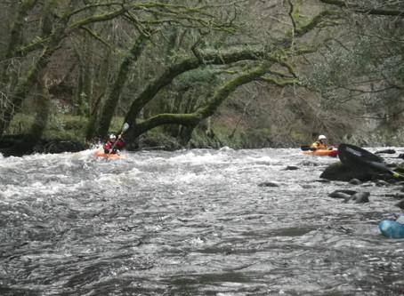 British Canoeing 3 Star Inland Kayak Training on Dartmoor with PHCC