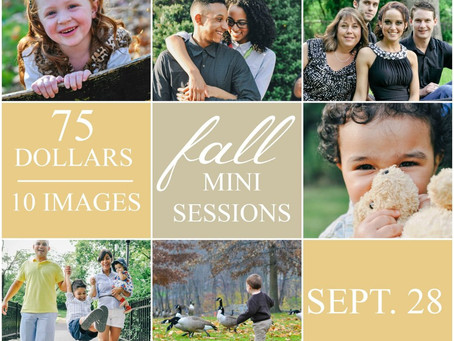 Fall Mini Sessions 2013