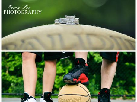 Basketball Engagement Session {Orange County, NY Photographer}