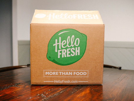"""""""Hello Fresh!"""" 