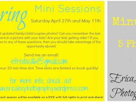 Spring Mini Session 2013!!!!!!!