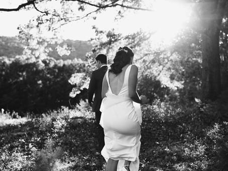 John + Darcee  // A Beautiful Hudson Valley Backyard Wedding!