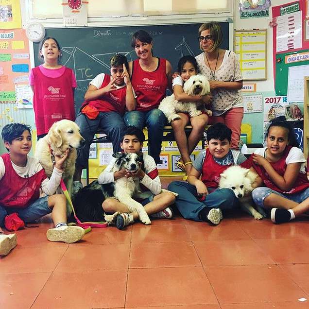 Gràcies als alumnes de l'#escolavilaroja
