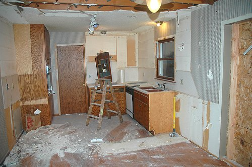 kitchen demolition