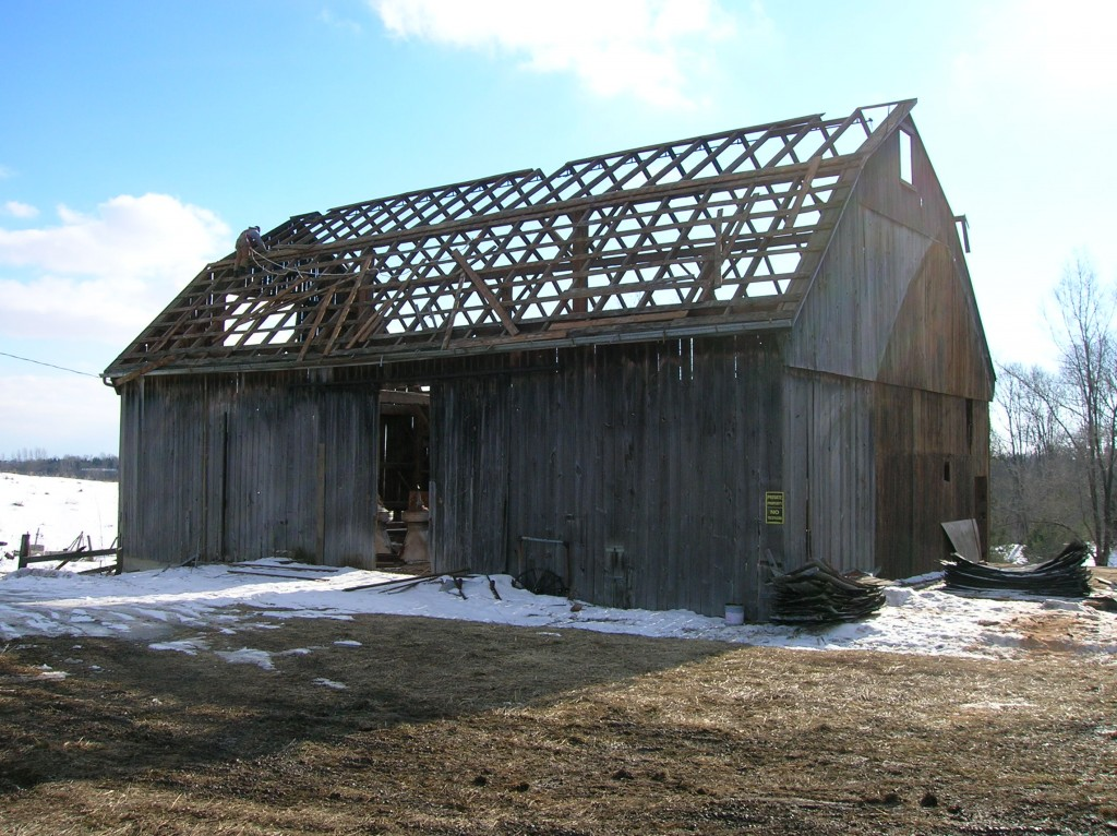 barn de construction