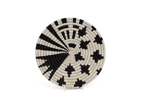 Small Black + White Fani Trivet