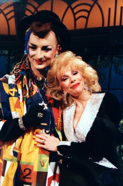 BOY GEORGE AND JOAN RIVERS
