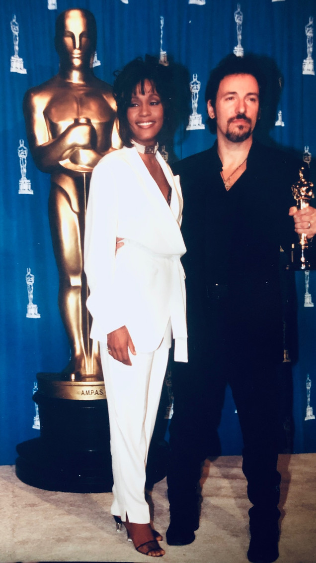 WHITNEY HOUSTON AND BRUCE SPRINGSTEEN