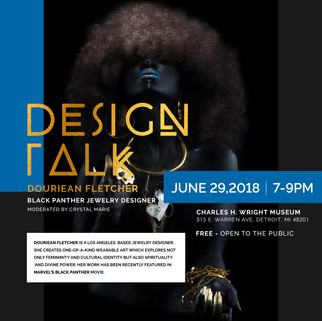 DOREAN FLETCHER: JEWELRY DESIGNER FROM THE MOVIE THE BLACK PANTHER