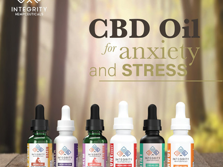 CBD Oil  for anxiety and stress. 🧴