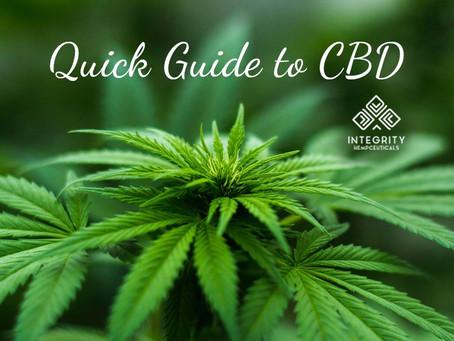 Quick Guide to CBD🍃