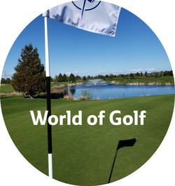 Worldof golf logo