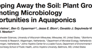 Publication! Aquaponics as Microbiology Research Opportunity.