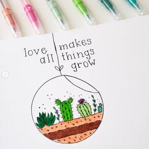 Dibuja un terrario