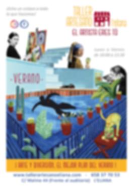 Verano Taller Artesano 2020-cartel para