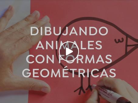 Dibuja animales a partir de formas geométricas