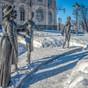 Québec (le monument aux suffragettes)