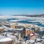 Québec (vue sur le fleuve Saint-Laurent)
