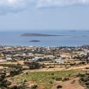 Paros (vue depuis le monastère d'Agi