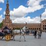 Séville (plaza de Espana)