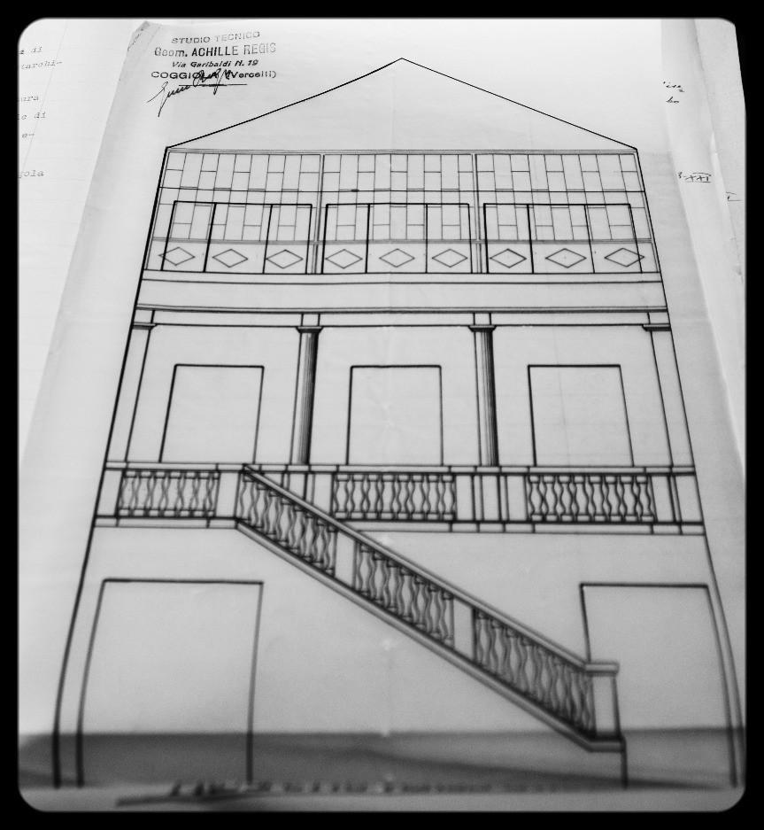 primo progetto di facciata