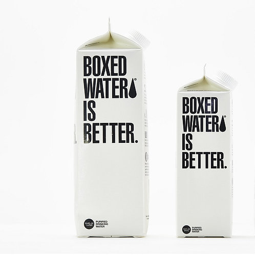 "Boxed ""Clean"" Water 1Liter"