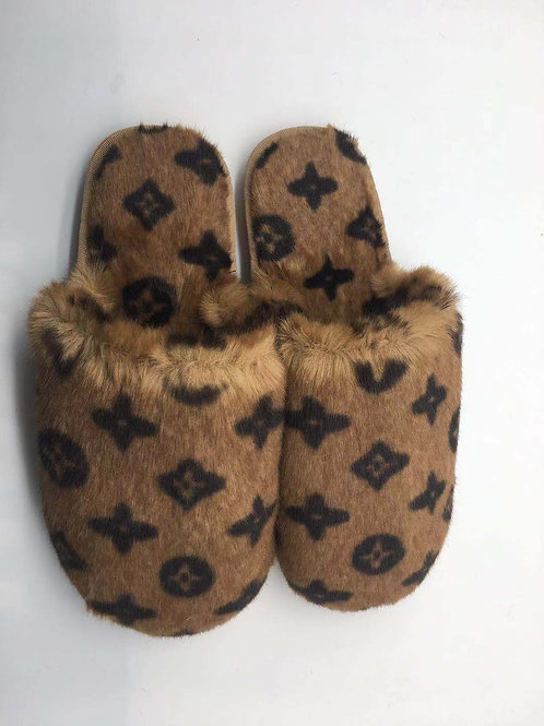 Marron Luxe Slipper