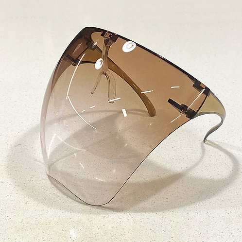 Fashionable Face Shield (Gradient Brown)