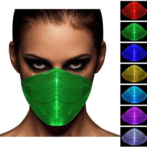 Illuminous LED Face Cover