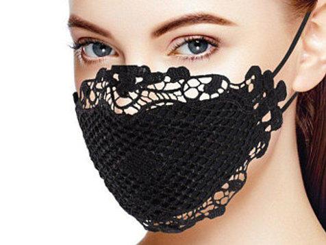Crochet Lace Design (Black)