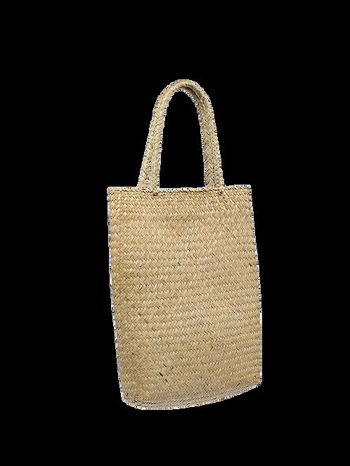 Dona straw letter bag