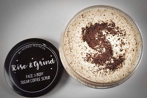 Rise & Grind Coffee Sugar Scrub