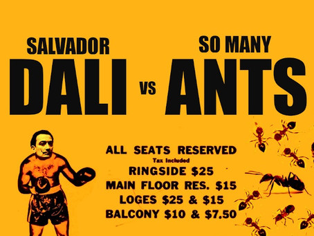 Dalí vs. Ants