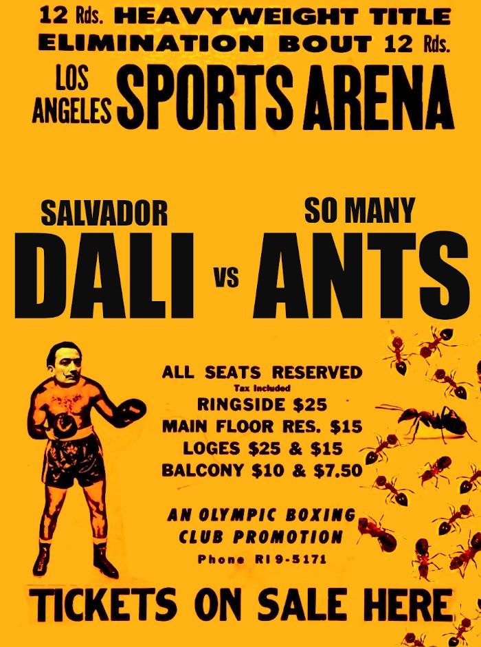 Dali vs Ants