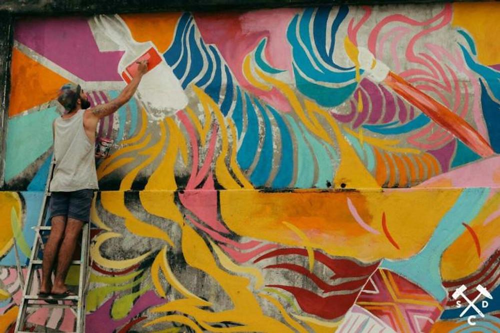 Panama Mural Eric Sesto