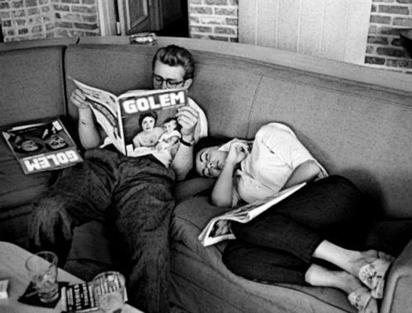 James Dean & Elizabeth Taylor read Golem
