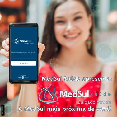 MedSul Saúde apresenta: Cuidado Virtual.