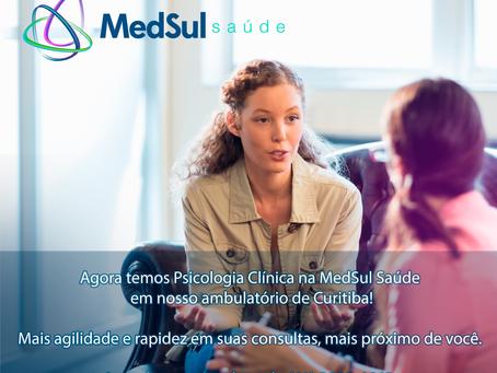 Medsul Saúde oferece atendimento psicológico na sua Unidade matriz