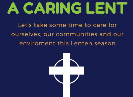 A Caring Lent 2020 - Holy Week