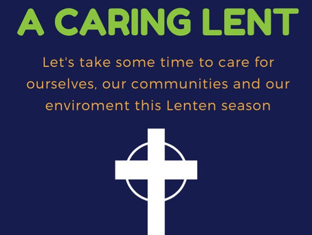 A Caring Lent - Week 5
