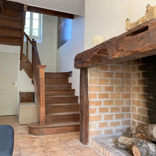 Maison Cravelle, Gîte Castelnaud, Staircase